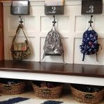 : mudroom furniture for small spaces