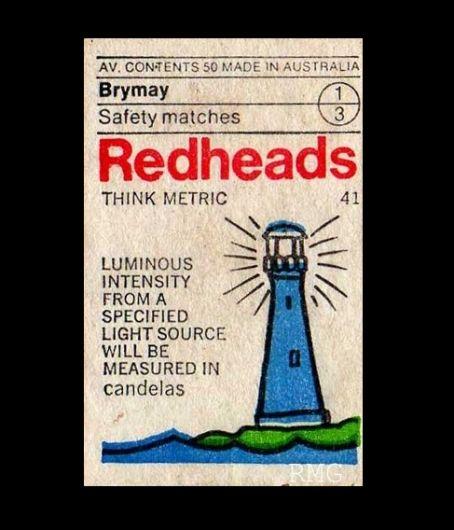Item 193: Redheads Think Metric set / unknown designer / 1970s « Recollection — Designspiration