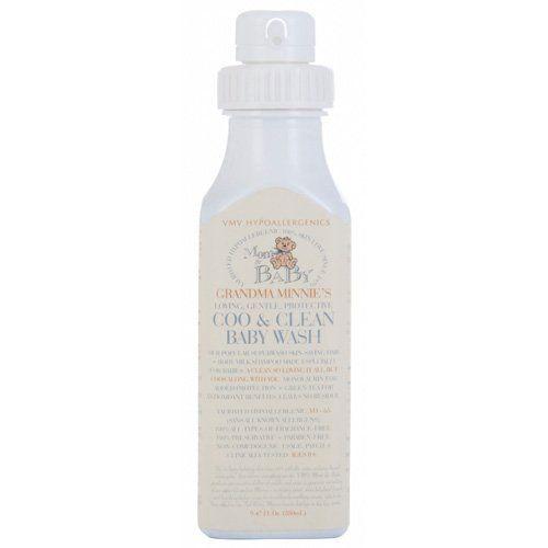 VMV Hypoallergenics Grandma Minnie's Coo and Clean Baby Wash 9.47 fl oz. by VMV Hypoallergenics. $30.00
