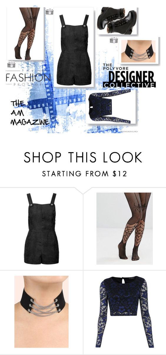 """THE A.M MAGAZINE 7"" by ayeeeitsfatso on Polyvore featuring Topshop, Leg Avenue and Miss Selfridge"