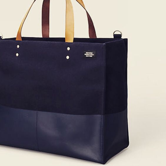 Jack Spade Dipped Canvas Tote