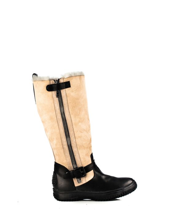RUDSAK Boots (BLACK, NEW LOOK LEATHER - PULL-UP LEATHER) | Breana