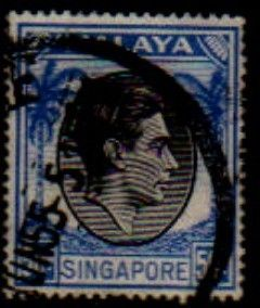 SINGAPORE   Scott # 17a  F-VF used http://www.delcampe.com/page/item/id,0010321380,language,E.html