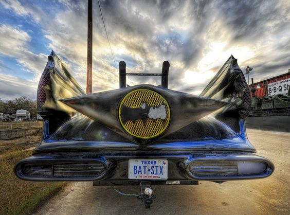 Batman in Austin? Not quite.. but someone spotted this homemade Batmobile spotted in Austin.