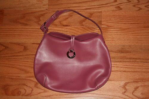 EQUIPAGE Paris genuine leather handbag bag hobo purse Anthropologie bag RARE!! Paid $2.99...