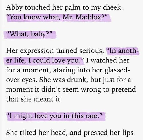 One of my favorite scenes from Walking Disaster by Jamie McGuire. ~Al Travis Maddox. I love him! Just finished this series and I'm all about it!