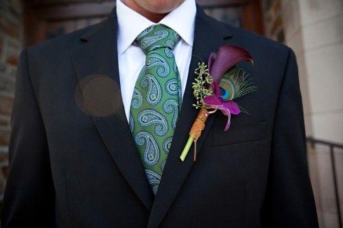 Paisley tie!