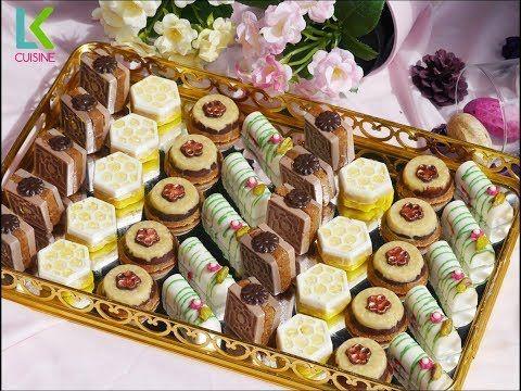 اربع اشكال حلويات بدون فرن كتحمق في المذاق بثلاث حشوات مختلفة ومميزة Youtube Eid Sweets Delicious Desserts Food
