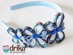 [Passo a Passo] - Confira como fazer uma Tiara com Borboletas de Vies Bem Fácil!