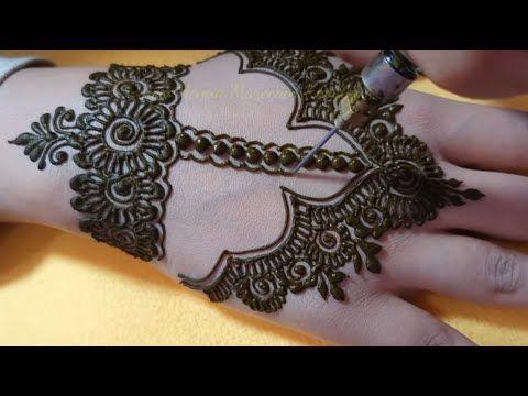 Mehandi For Back Hand Semi Bridal Mehndi Design Bridal Henna Latest Mhndi Design For Mehndi Designs Mehndi Designs Feet Mehndi Patterns