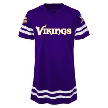 Girls+7-16+Minnesota+Vikings+Football+Dress