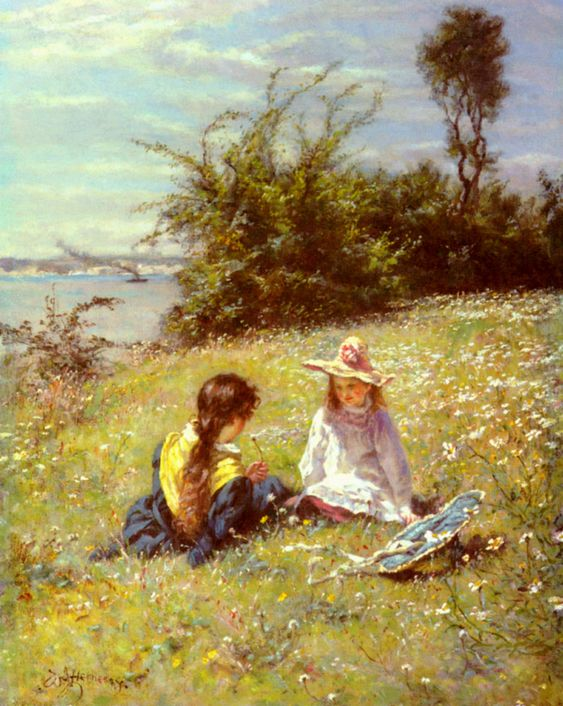 The Dandelion Clock by William John Hennessy: