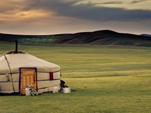 Mongolia - wanted to go and live in one of these gers ever since I saw 'The Cave of Yellow Dog'. Not to mention, I could take a train there from China
