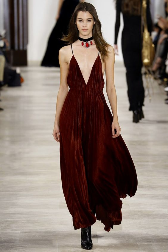 See the Ralph Lauren autumn/winter 2016 collection. Click through for full gallery at vogue.co.uk