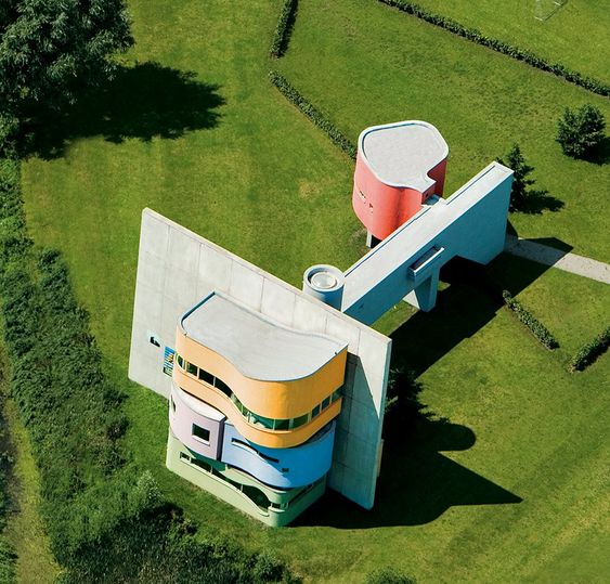 Wall House, Groningen, The Netherlands, architect John Hejduk.