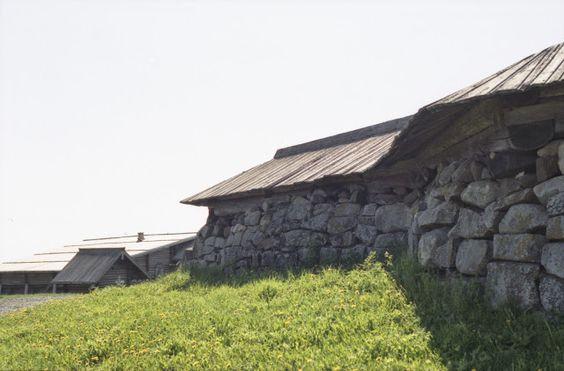 Кижи, ограда Кижского погоста