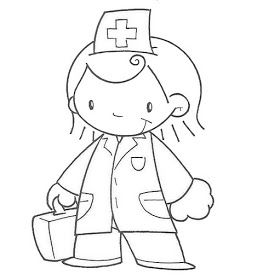 Sgblogosfera Maria Jose Argueso Profesiones Para Colorear Medical Drawings Community Art Community Helpers
