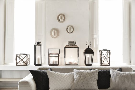 Interieur and beaches on pinterest - Decoratie salon grijs wit ...