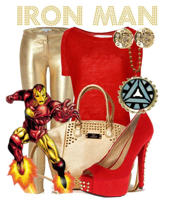 """Iron Man"" by niennamarie ❤ liked on Polyvore featuring Faith Connexion, ISABEL BENENATO, Friis & Company, Chinese Laundry, Reactor and Karen Millen"