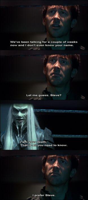 John loves naming things. Including Wraiths. #StargateAtlantis