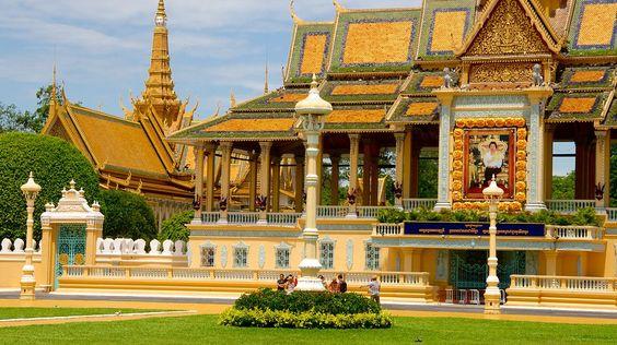 Vẻ đẹp của cung điện Hoàng gia Campuchia