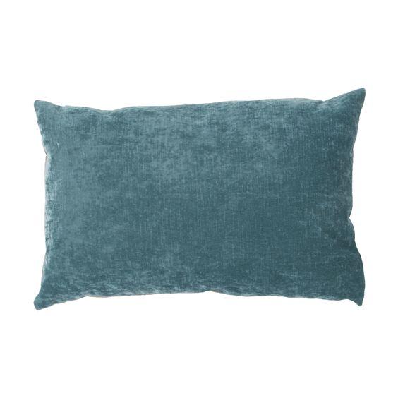 Luxe Solid Lumbar Pillow