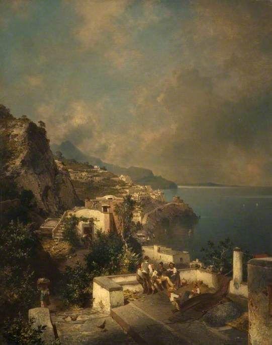 Franz Richard Unterberger Ville d'Amalfi