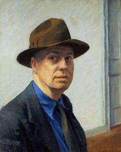 Bild från http://cdn2.hubspot.net/hub/40667/file-47020389-jpg/images/edward-hopper-self-portrait-resized-600.jpg.