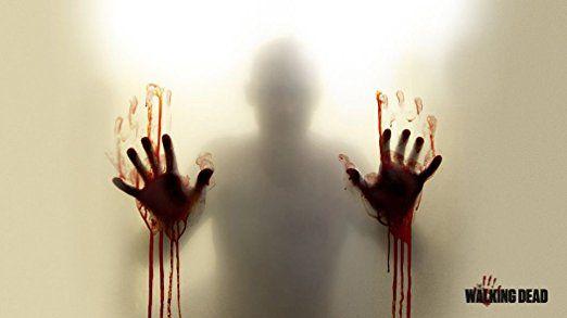 The Walking Dead 035 Waterproof Plastic Poster Kunststoff Plakat Wasserdicht - Anti-Fade - Kann auf den Außenbereich/Garten/Badezimmer