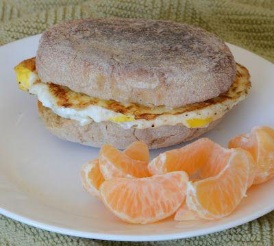 A healthier egg mcmuffin