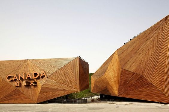 The Canadian Pavilion at the Shanghai World Expo 2010