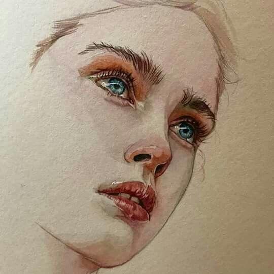 Pin By Lidija On Drawings Watercolor Face Cat Art Painting