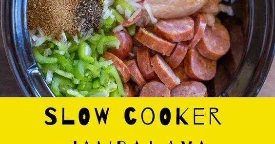 Healthy Recipies Slow Cooker Jambalaya Jambalaya Recipe Ground Beef Recipes For Dinner