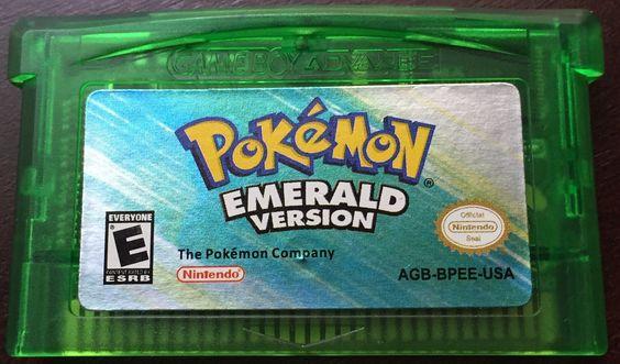 Pokemon Emerald - Game Boy Advance