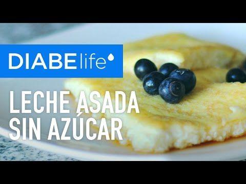 Recetas para diabéticos: Leche asada sin azúcar - YouTube