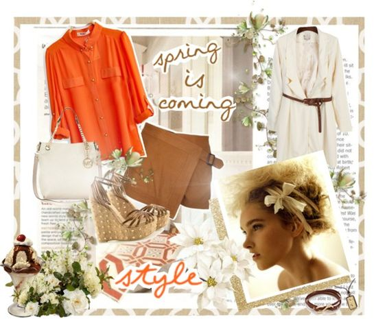 """Spring is coming :)"" by azulitaa22 ❤ liked on Polyvore"
