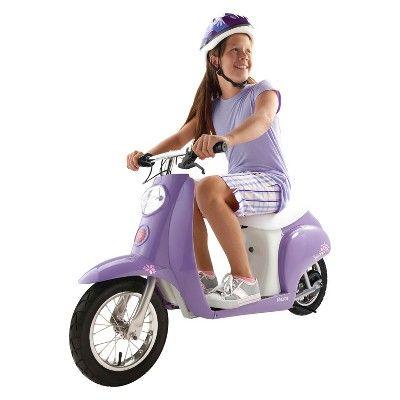 Razor 24v Pocket Mod Betty Powered Ride On Purple Razor Pocket Mod Electric Scooter Electric Scooter For Kids