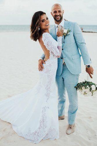 Mens Wedding Attire For Beach Celebration ★  mens wedding attire blue jacket pninatornai