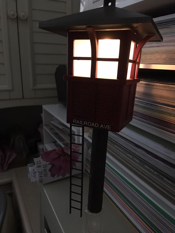 lit tower