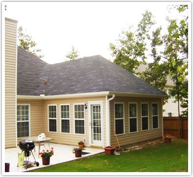 Room additions pictures hip roof room addition built for Home additions ideas