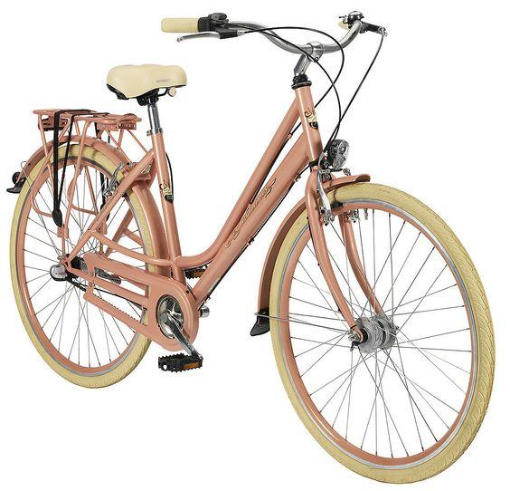 Fahrrad Alternative in Rosegold: Nostalgierad (Damen) »71,12 cm (28 Zoll)«