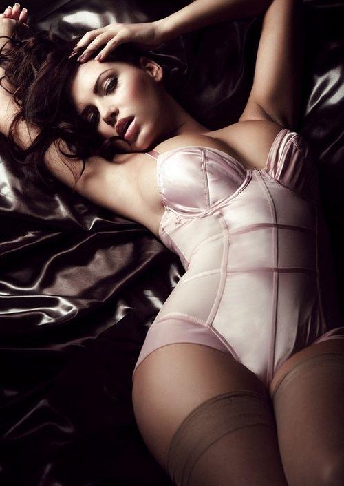 ♥ Silk bodysuit