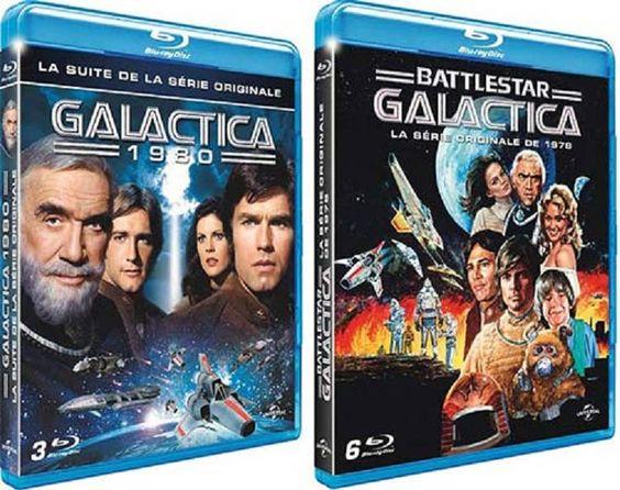 Battlestar Galactica: La série originale en coffret BLU-RAY le 5 janvier