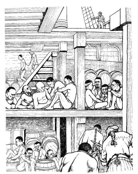 Kids-n-Fun   Coloring Slavery Revolt on the Amistad Stored under cover