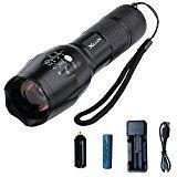 sparen25.info , sparen25.com#9: XLUX wiederaufladbare LED Taschenlampe taktische Taschenlampe, super hell, mit USB-Ladegerät und…sparen25.de