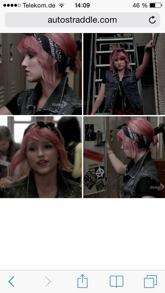 #Diedhair#Rock #Punk #Glee #quin