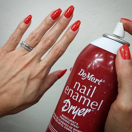 The item is the Demert, Nail Enamel Dryer spray. I dislike using ...