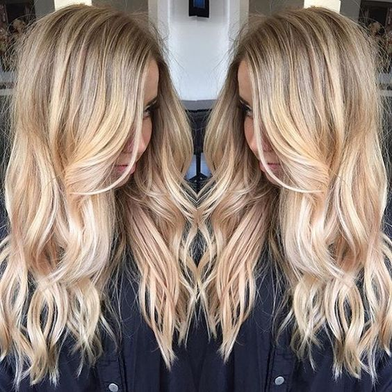 Crystal Ash Blonde Hair Color Ideas For Winter 2016: Buttery Blonde And Completely Stunning Hair By @mck_manes