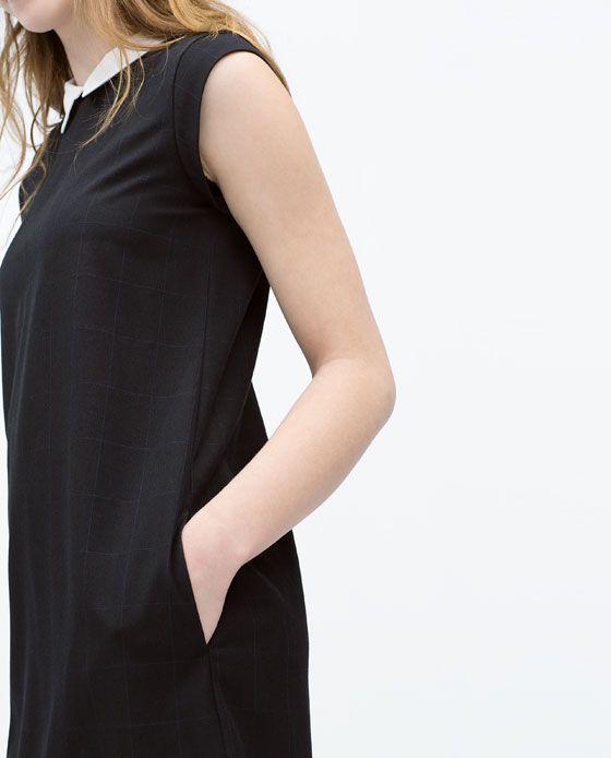 ZARA - WOMAN - CHECK DRESS
