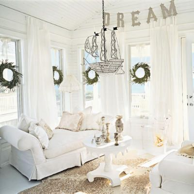 I love white rooms.  White rooms do not love my cat & dog